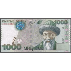 Kirguisistán 1.000 Som PK 18 (2.000) S/C