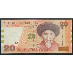 Kirguisistán 20 Som PK 19 (2.002) S/C
