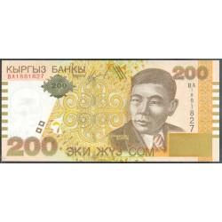 Kirguisistán 200 Som PK 22 (2.004) S/C