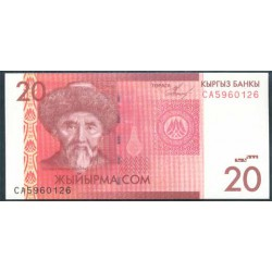 Kirguisistán 20 Som PK 24 (2.009) S/C