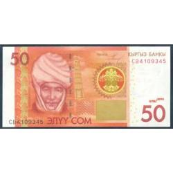 Kirguisistán 50 Som PK 25 (2.009) S/C