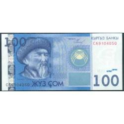 Kirguisistán 100 Som PK 26 (2.009) S/C