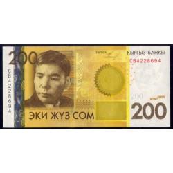 Kirguisistán 200 Som PK 27 (2.010) S/C