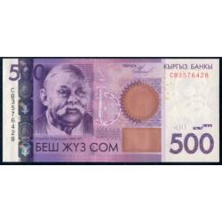 Kirguisistán 500 Som PK 28 (2.010) S/C