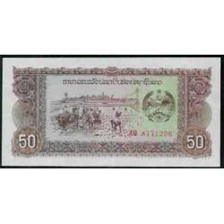 Laos 50 Kips PK 29 (1979) S/C