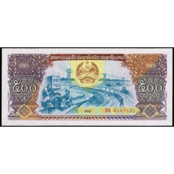 Laos 500 Kip PK 31 (1988) S/C