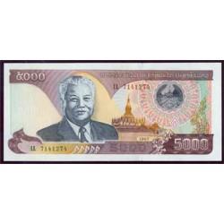 Laos 5.000 Kip PK 34a (1.997) S/C