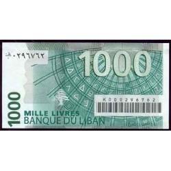Líbano 1.000 Libras PK 84 (2.004) S/C