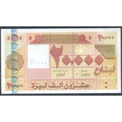 Líbano 20.000 Libras PK 87 (2.005) S/C