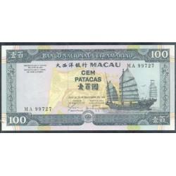 Macao 100 Patacas PK 73 (20-12-1.999) S/C