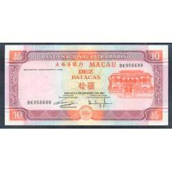 Macao 10 Patacas PK 76b (8-1-2.001) S/C