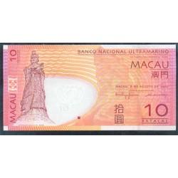 Macao 10 Patacas PK 80 (08-08-2.005) S/C