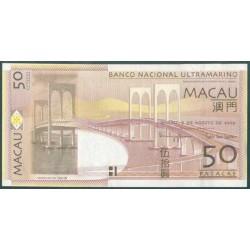 Macao 50 Patacas PK 81B (8-8-2.009) S/C