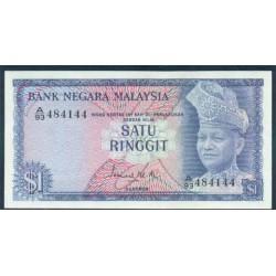 Malasia 1 Ringgit Pk 1 (1.967-72) S/C