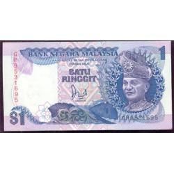 Malasia 1 Ringgit Pk 27b (1.986) S/C