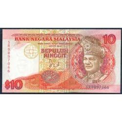 Malasia 10 Ringgit Pk 29 (1.989) S/C