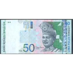 Malasia 50 Ringgit Pk 43d (2.001) S/C