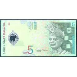 Malasia 5 Ringgit Pk 47 (2.004) S/C