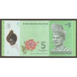 Malasia 5 Ringgit Pk 52 (2.012) S/C