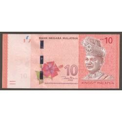 Malasia 10 Ringgit Pk 53 (2.012) S/C