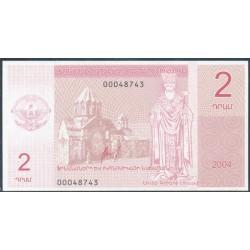 Nagorno Karabaj 2 Dram (2.004) S/C