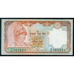 Nepal 20 Rupias PK 47 (2.002) S/C