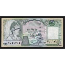 Nepal 100 Rupias PK 49 (2.002) S/C