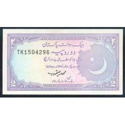 Pakistán 2 Rupias PK 37 (2) (1985-1999) S/C