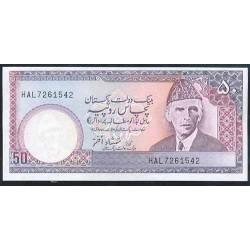 Pakistán 50 Rupias PK 40 (2) (1.986-) S/C