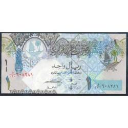 Qatar 1 Riyal PK 28 (2.008) S/C