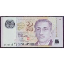 Singapur 2 Dólares PK 46 (2.005) S/C