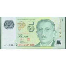 Singapur 5 Dólares PK 47 (2.005) S/C