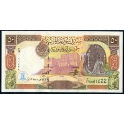 Siria 50 Libras Siria PK 107 (1.998) S/C