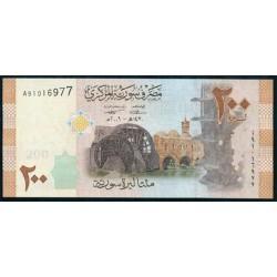 Siria 200 Libras PK 114 (2.009) S/C