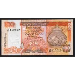 Sri Lanka 100 Rupias PK 105A (1-7-1.992) S/C