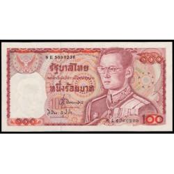 Tailandia 100 Baht Pk 89 (1.978) (Firma 62) S/C