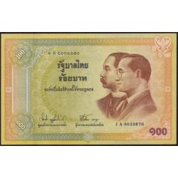 Tailandia 100 Baht Pk 110 (2.002). S/C