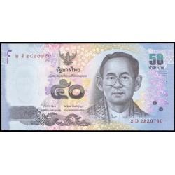 Tailandia 50 Baht Pk Nuevo (2.012) S/C