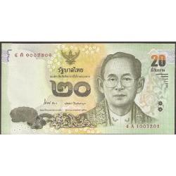 Tailandia 20 Baht Pk 124 (2.013) S/C