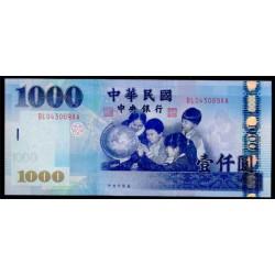 Taiwán 1.000 Yuan PK 1994 (2.004) S/C