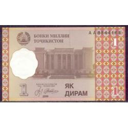 Tayikistán 1 Dirham PK 10 (1.999) S/C