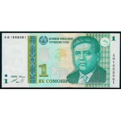 Tayikistán 1 Somoni PK 14 (1.999) S/C