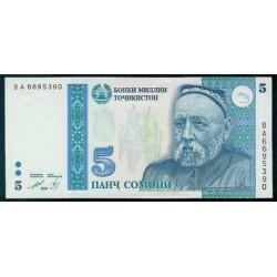 Tayikistán 5 Somoni PK 15 (1.999) S/C