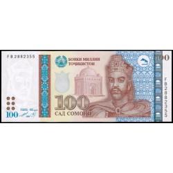 Tayikistán 100 Somoni PK 19 (1.999) S/C