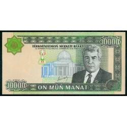 Turkmenistán 10.000 Manat Pk 15 (2.003) S/C