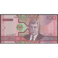Turkmenistán 100 Manat Pk 18 (2.005) S/C