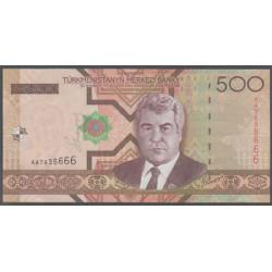 Turkmenistán 500 Manat Pk 19 (2.005) S/C