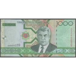 Turkmenistán 1000 Manat Pk 20 (2.005) S/C