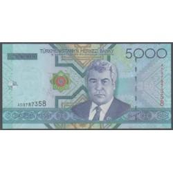 Turkmenistán 5.000 Manat PK 21 (2.005) S/C