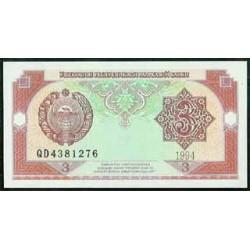 Uzbekistán 3 Sum PK 74 (1994) S/C